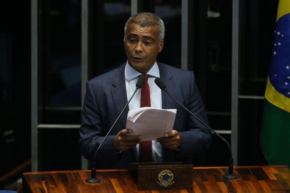 Romário ingressou na carreira política em 2010