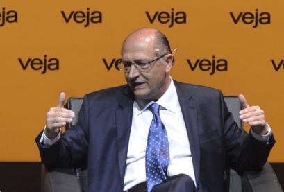 Geraldo Alckmin, candidato à Presidência pelo PSDB em  entrevista para Revista Veja, em São Paulo