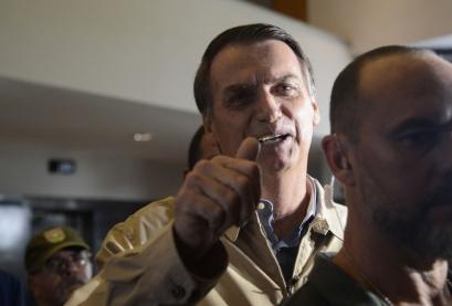 Candidato do PSL à Presidência da República, Jair Bolsonaro,
