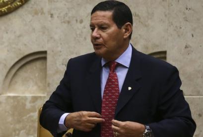 Vice-presidente da República, General Hamilton Mourão