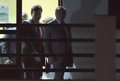 Michel Temer deixa a sede da Polícia Federal no Rio de Janeiro